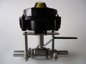 Example manual operated mounting set